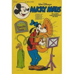 Micky Maus Nr. 36 / 5 September 1978 - Pinocchio Theater 1