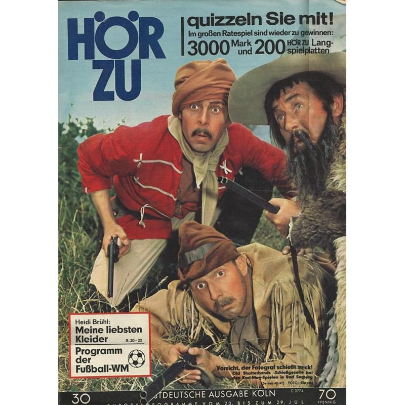 HÖRZU 30 / 23 bis 29 Juli 1966 - Old Shatterhands