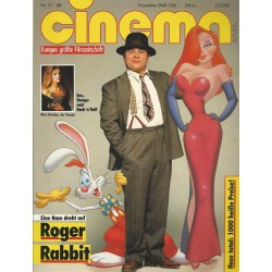 CINEMA 11/88 November 1988 - Roger Rabbit