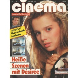 CINEMA 4/88 April 1988 - Heiße Szenen mit Desiree