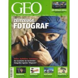 Geo Nr. 7 / Juli 2007 - Zeitzeuge Fotograf