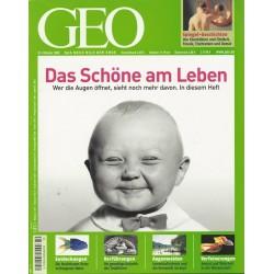 Geo Nr. 10 / Oktober 2008 - Das Schöne am Leben