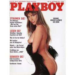 Playboy Nr.10 / Oktober 1991 - Suzanne Sanders