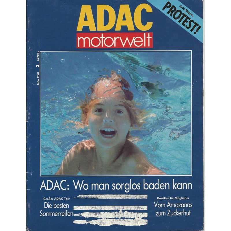 ADAC Motorwelt Heft.3 / März 1993 - Wo man sorglos baden kann