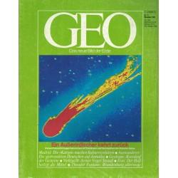Geo Nr. 11 / November 1985 - Ein Außerirdischer kehrt zurück