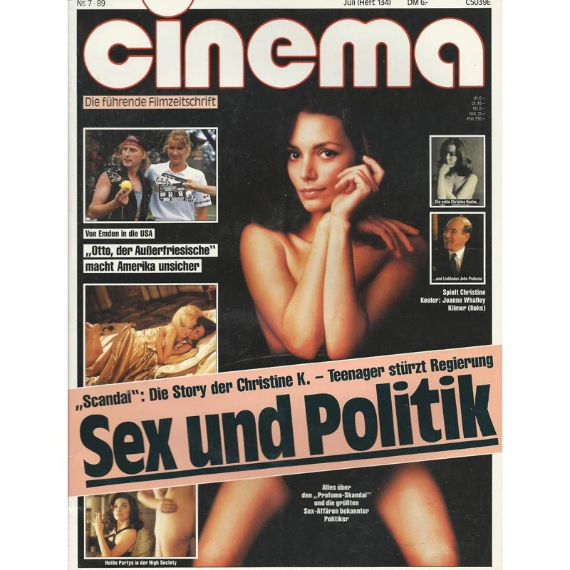 CINEMA 7/89 Juli 1989 - Sex und Politik