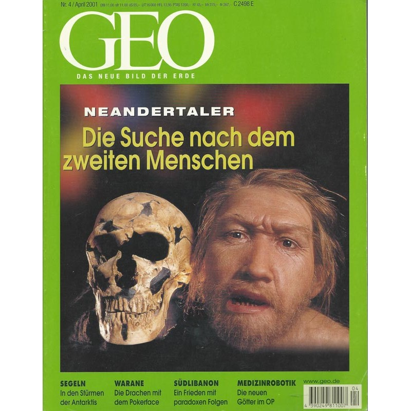 Geo Nr. 4 / April 2001 - Neandertaler