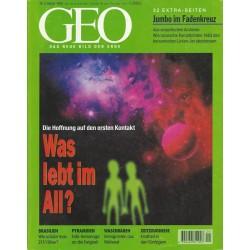 Geo Nr. 1 / Januar 1998 - Was lebt im All?