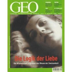 Geo Nr. 12 / Dezember 2002 - Die Logik der Liebe