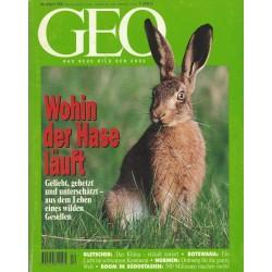 Geo Nr. 4 / April 1995 - Wohin der Hase läuft