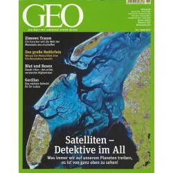 Geo Nr. 6 / Juni 2012 - Satelliten - Detektive im All