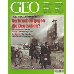 Geo Nr. 2 / Februar 2003 - Verbrechen gegen die Deutschen?