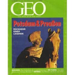 Geo Nr. 4 / April 1993 - Potsdam & Preußen