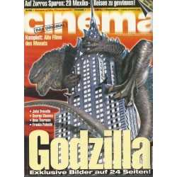 CINEMA 9/98 September 1998 - Godzilla