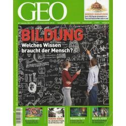 Geo Nr. 9 / September 2006 - Bildung, welches Wissen braucht der Mensch?