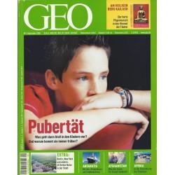 Geo Nr. 9 / September 2005 - Pubertät
