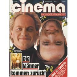 CINEMA 3/89 März 1989 - Die Männer kommen zurück!