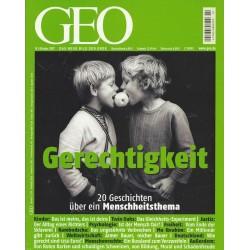 Geo Nr. 10 / Oktober 2007 - Gerechtigkeit