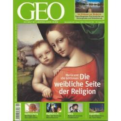 Geo Nr. 1 / Januar 2011 - Die weibliche Seite der Religion