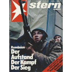 stern Heft Nr.2 / 4 Januar 1990 - Rumänien, Der Aufstand