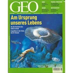 Geo Nr. 5 / Mai 2002 - Am Ursprung unseres Lebens