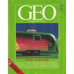 Geo Nr. 1 / Januar 1985 - Mit dem Auto bis ans Bett