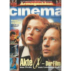 CINEMA 8/98 August 1998 - Akte X der Film