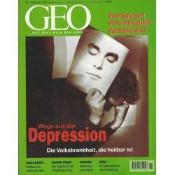Geo Nr. 11 / November 1998 - Wege aus der Depression
