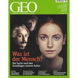 Geo Nr. 1 / Januar 2012 - Was ist der Mensch?