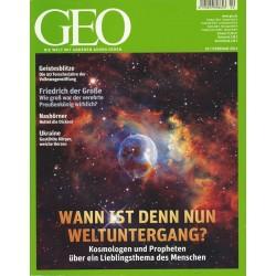 Geo Nr. 2 / Februar 2012 - Wann ist den nun Weltuntergang?