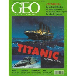 Geo Nr. 12 / Dezember 1997 - Titanic, der ewige Mythos