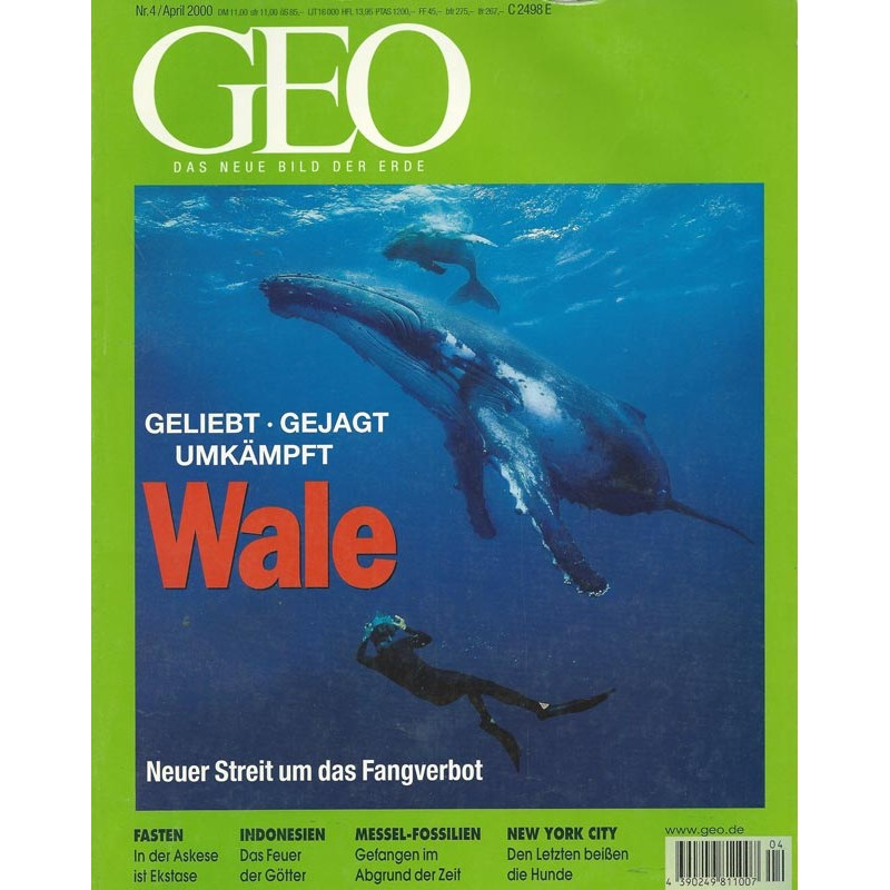 Geo Nr. 4 / April 2000 - Wale