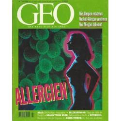 Geo Nr. 7 / Juli 1994 - Allergien