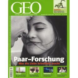 Geo Nr. 7 / Juli 2010 - Paar Forschung