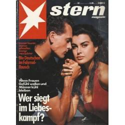 stern Heft Nr.32 / 2 August 1990 - Wer siegt im Liebeskampf?