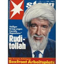 stern Heft Nr.10 / 26 Februar 1987 - Rudi-tollah