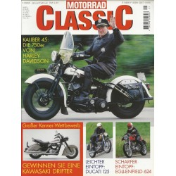 Motorrad Classic 1/00 - Januar/Februar 2000 - Kaliber 45