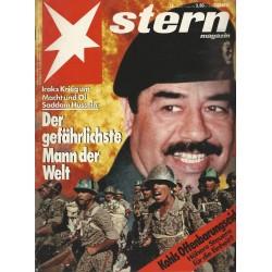 stern Heft Nr.33 / 9 August 1990 - Der gefährlichste Mann der Welt