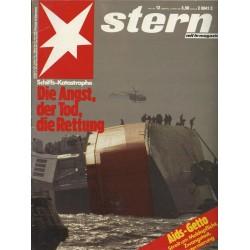 stern Heft Nr.12 / 12 März 1987 - Die Angst, der Tod, die Rettung