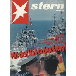 stern Heft Nr.35 / 23 August 1990 - Mit den USA in den Krieg?