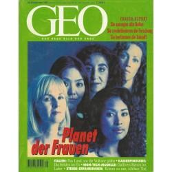 Geo Nr. 9 / September 1995 - Planet der Frauen