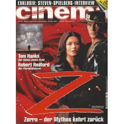 CINEMA 10/98 Oktober 1998 - Zorro, der Mythos kehrt zurück
