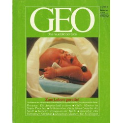 Geo Nr. 11 / November 1987 - Zum Leben gerettet