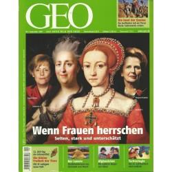 Geo Nr. 9 / September 2009 - Wenn Frauen herrschen