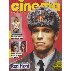CINEMA 10/88 Oktober 1988 - Red Heat