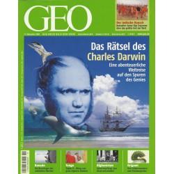 Geo Nr. 11 / November 2008 - Das Rätsel des Charles Darwin