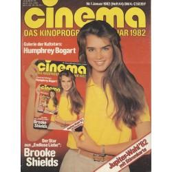CINEMA 1/82 Januar 1982 -...