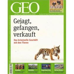 Geo Nr. 11 / November 2010 - Gejagt, gefangen, verkauft