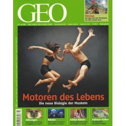 Geo Nr. 7 / Juli 2009 - Motoren des Lebens