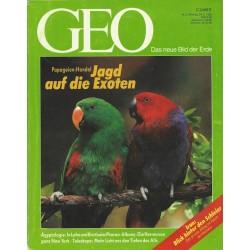 Geo Nr. 3 / März 1992 - Jagd auf die Exoten